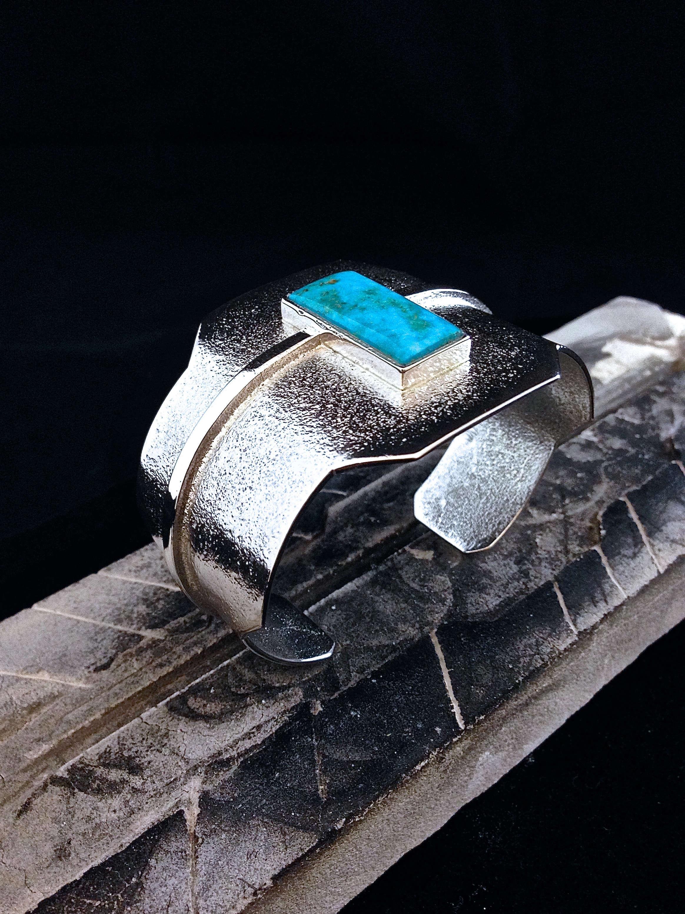Sterling Silver & Kingman Turquoise