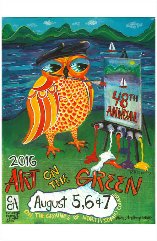 2016 Art on the Green Poster