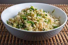 Lime Cilantro Brown Rice