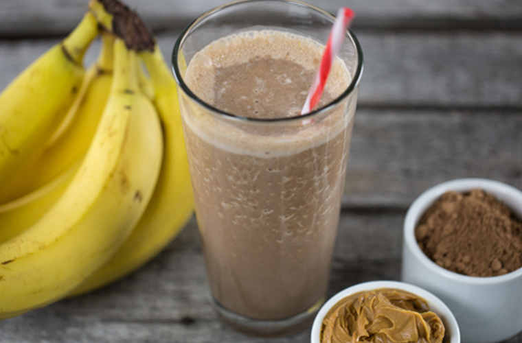 Chocolate Peanut Butter Cup Smoothie