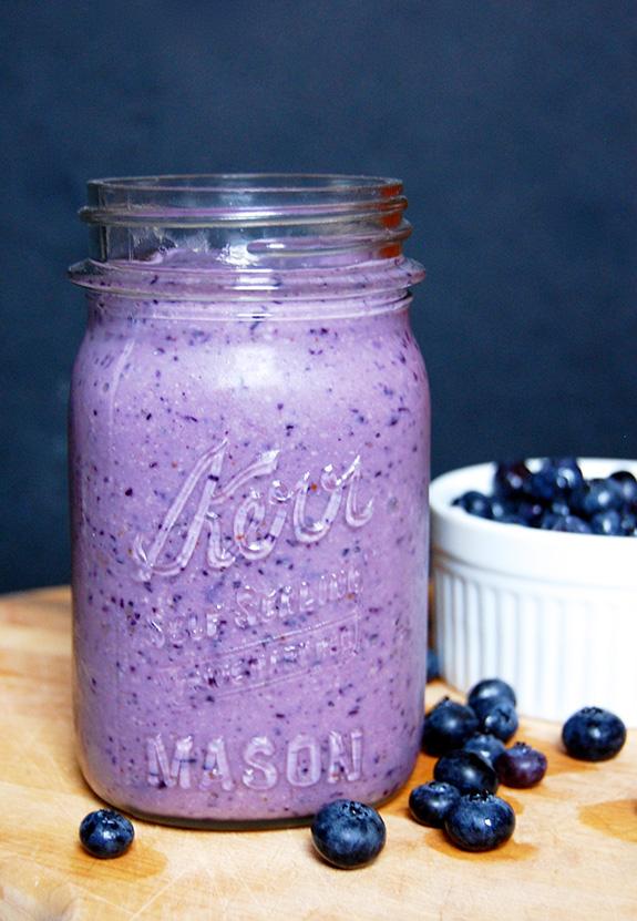 Blueberry Antioxidant Blast Smoothie