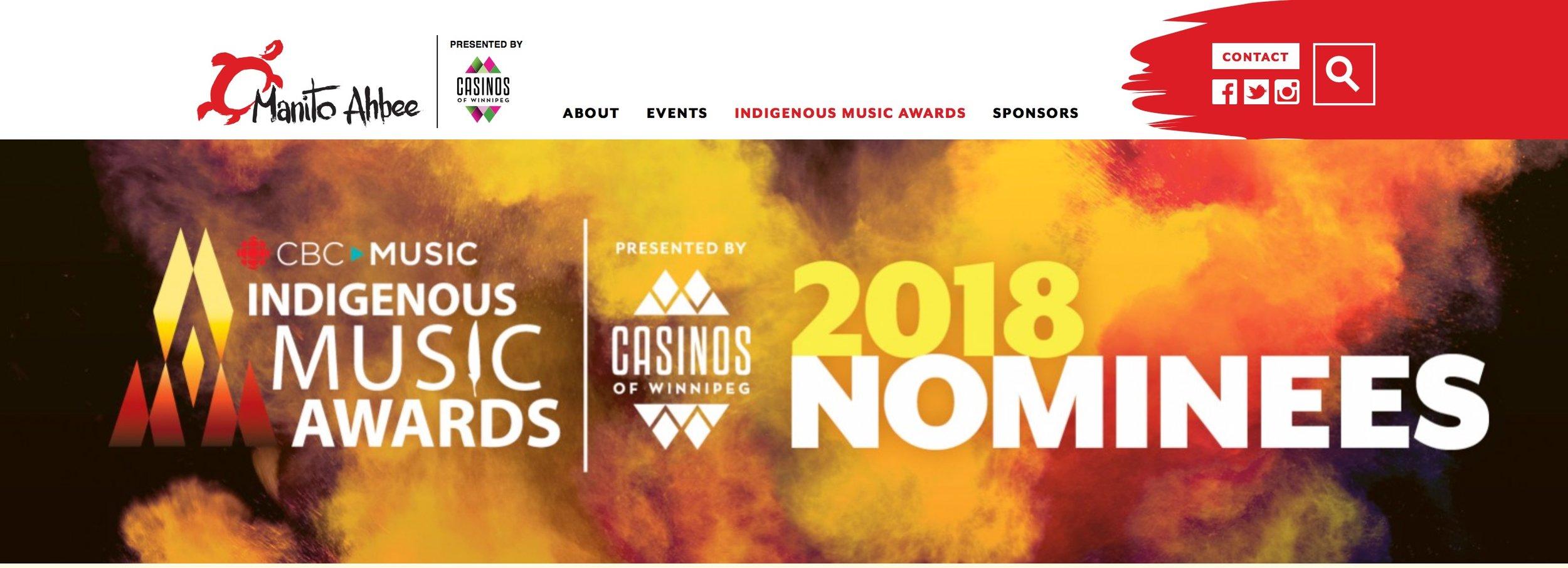 cbc indigenous awards