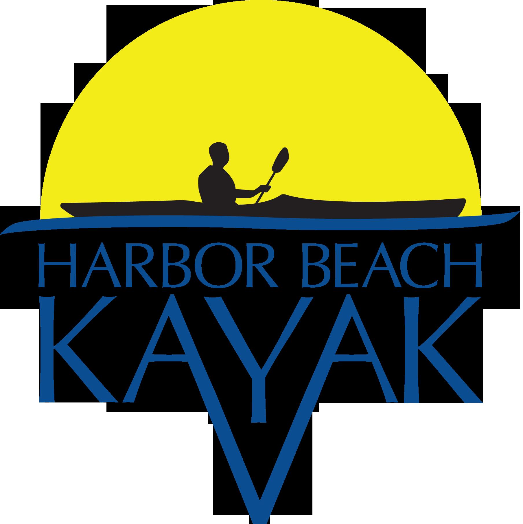 Harbor Beach Kayak Logo