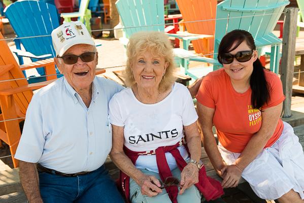 Mr. Jimmy, GiGi, and Becky