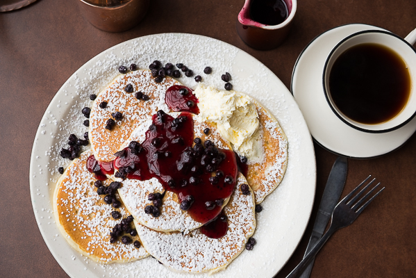 Epic blueberry pancakes