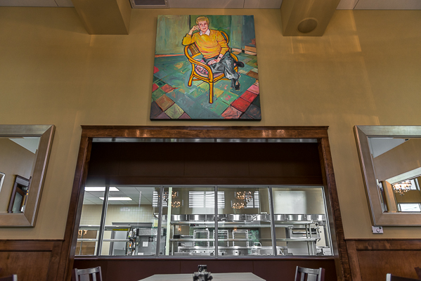 Bistro Ruth, a 96-seat restaurant named in honor of New Orleans restaurateur Ruth Fertel.