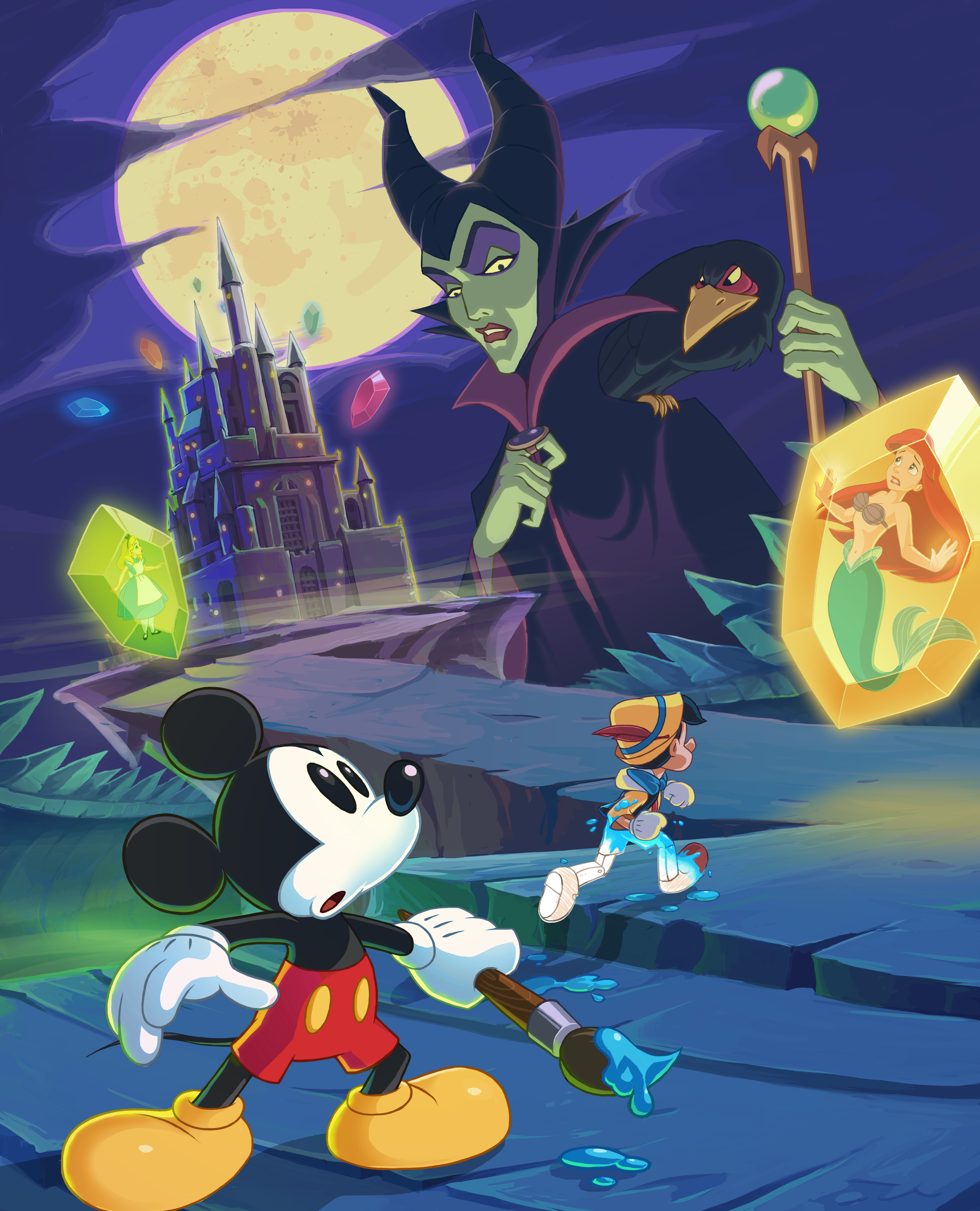 Epic Mickey: Power of Illusion (3DS)
