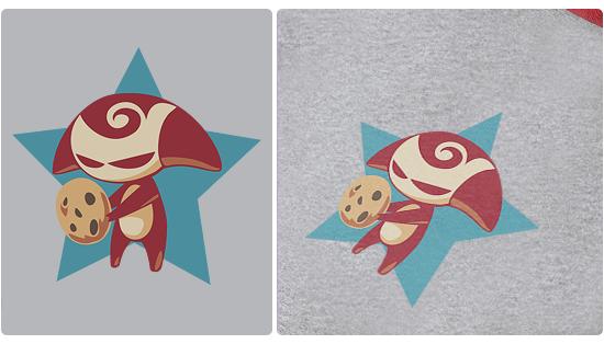 Hungry Monste  r  T-shirt Design