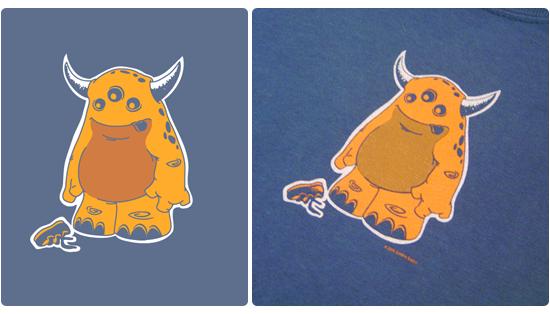 Sugg Monster  T-shirt Design