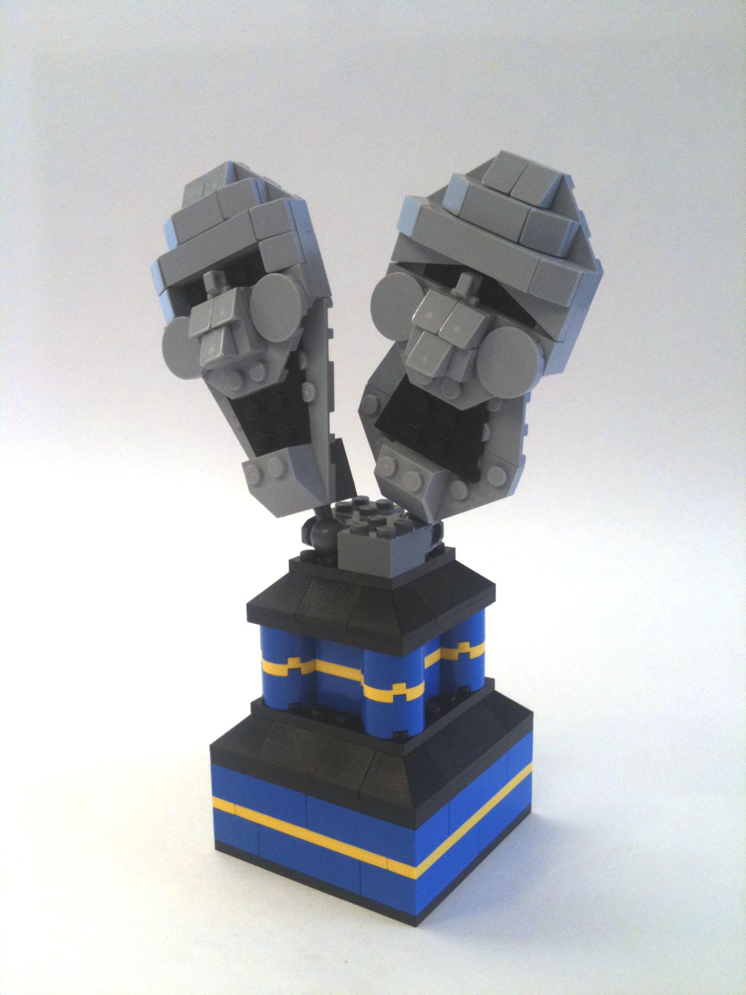 Bricks of Character Trophy