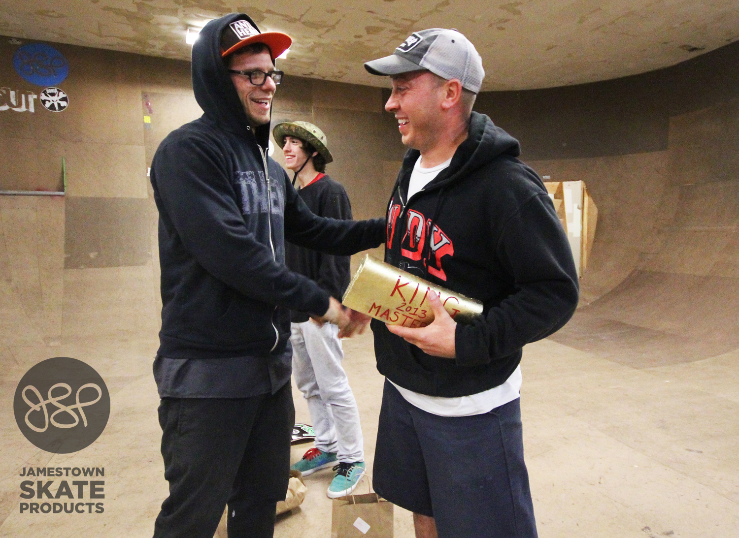 Masters Division KOTR Mark Buccigrossi, getting a job well done from Chet.