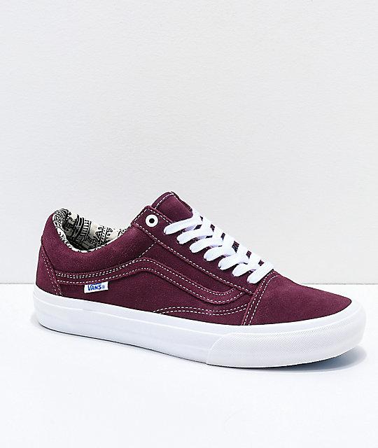Vans Sk8 Hi (blackraisin) — Jamestown Skate Products