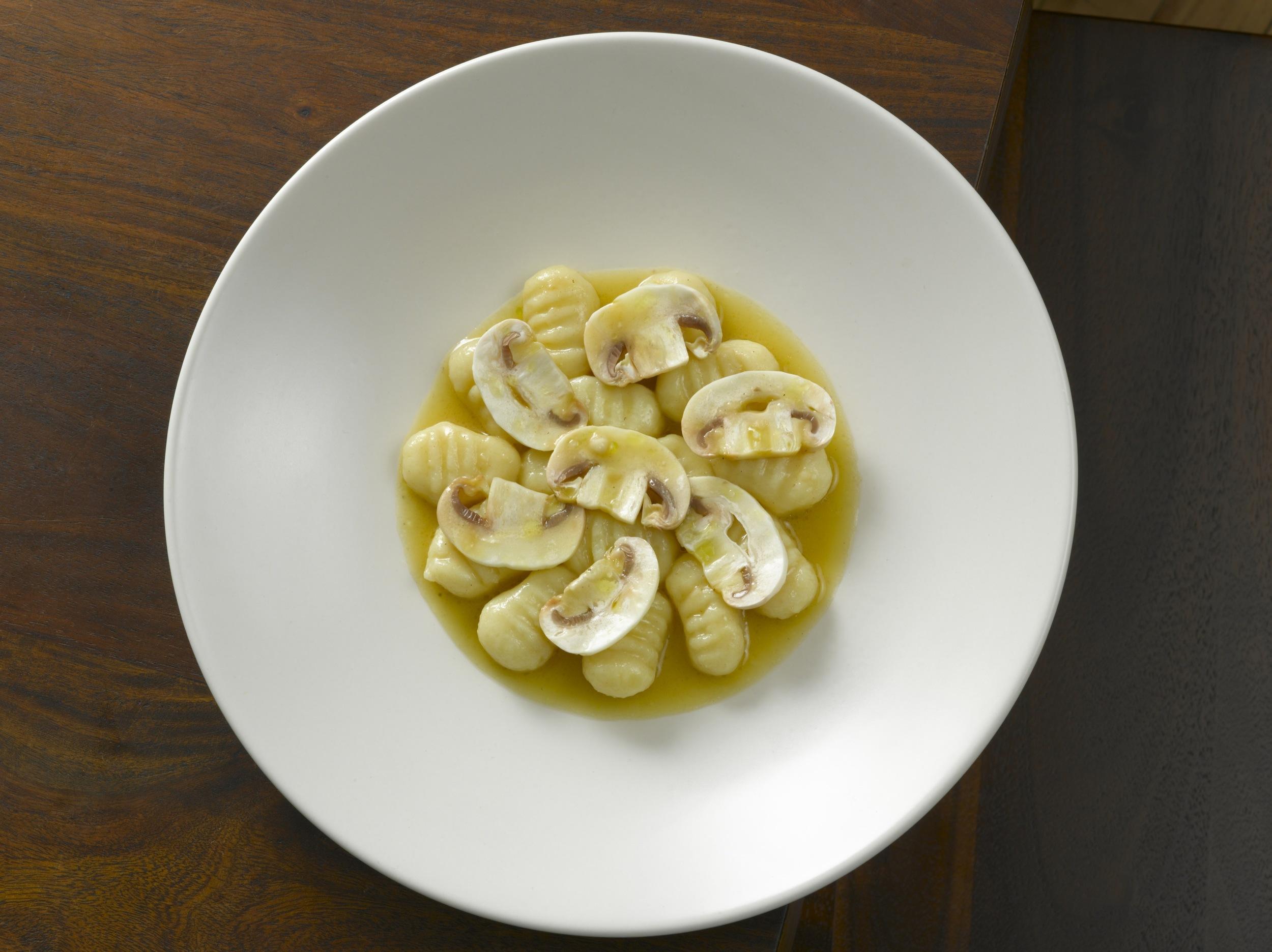 Potato Gnocchi with Mushrooms