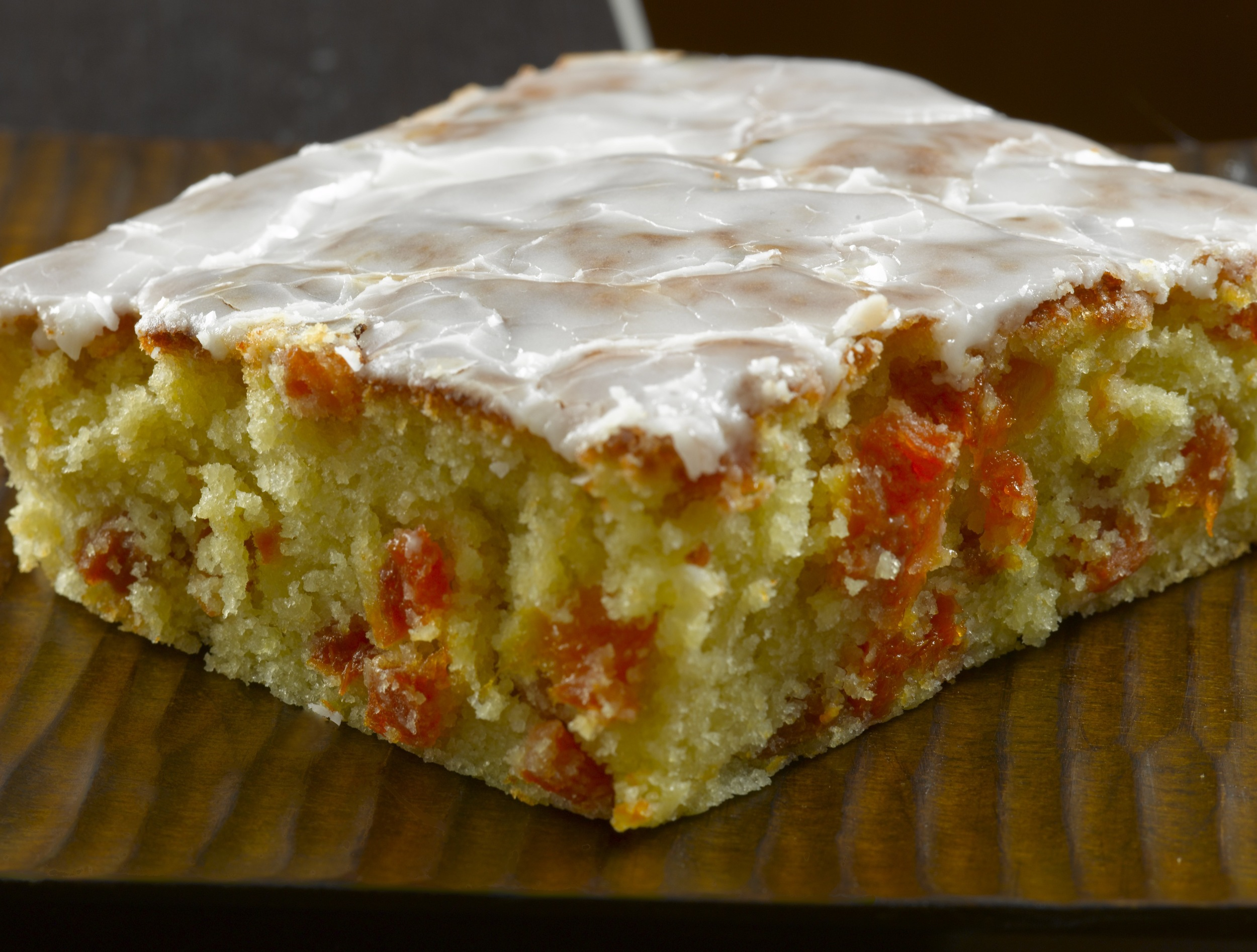Lemon Olive Oil Cake with Drunken Apricot  : This recipe creates a dense, moist cake with a savory quality from olive oil and honey, enhanced by the flavor of almond and cognac-soaked apricots.
