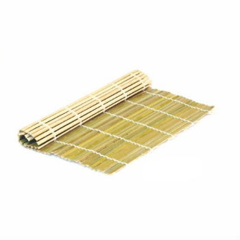Bamboo Sushi Mat, $4  . A great place to begin while experimenting and delving into the world of Japanese food.