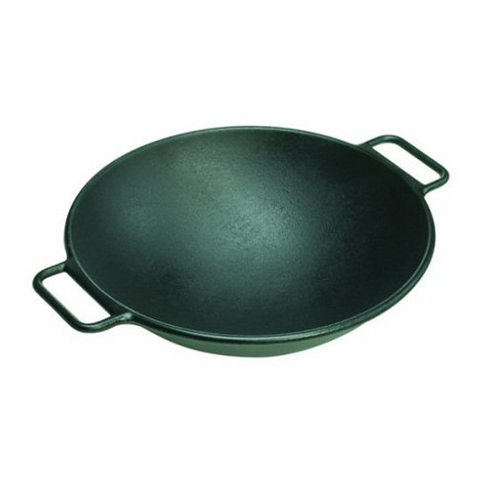 Cast-Iron Wok, $67  . An enormously versatile pan for anything from the obvious (stirfry) to the not-so-obvious (chili).