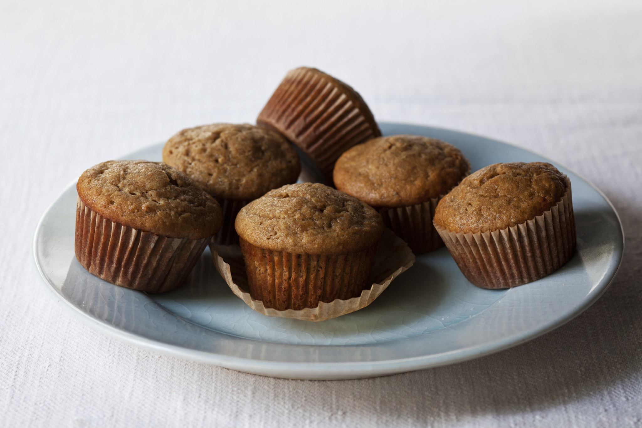 Banana Maple Muffins with Sprouted Wheat Flour