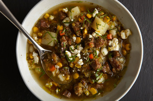 Pork and Tomatillo Stew
