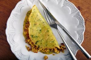 Savory Lentil Crepes