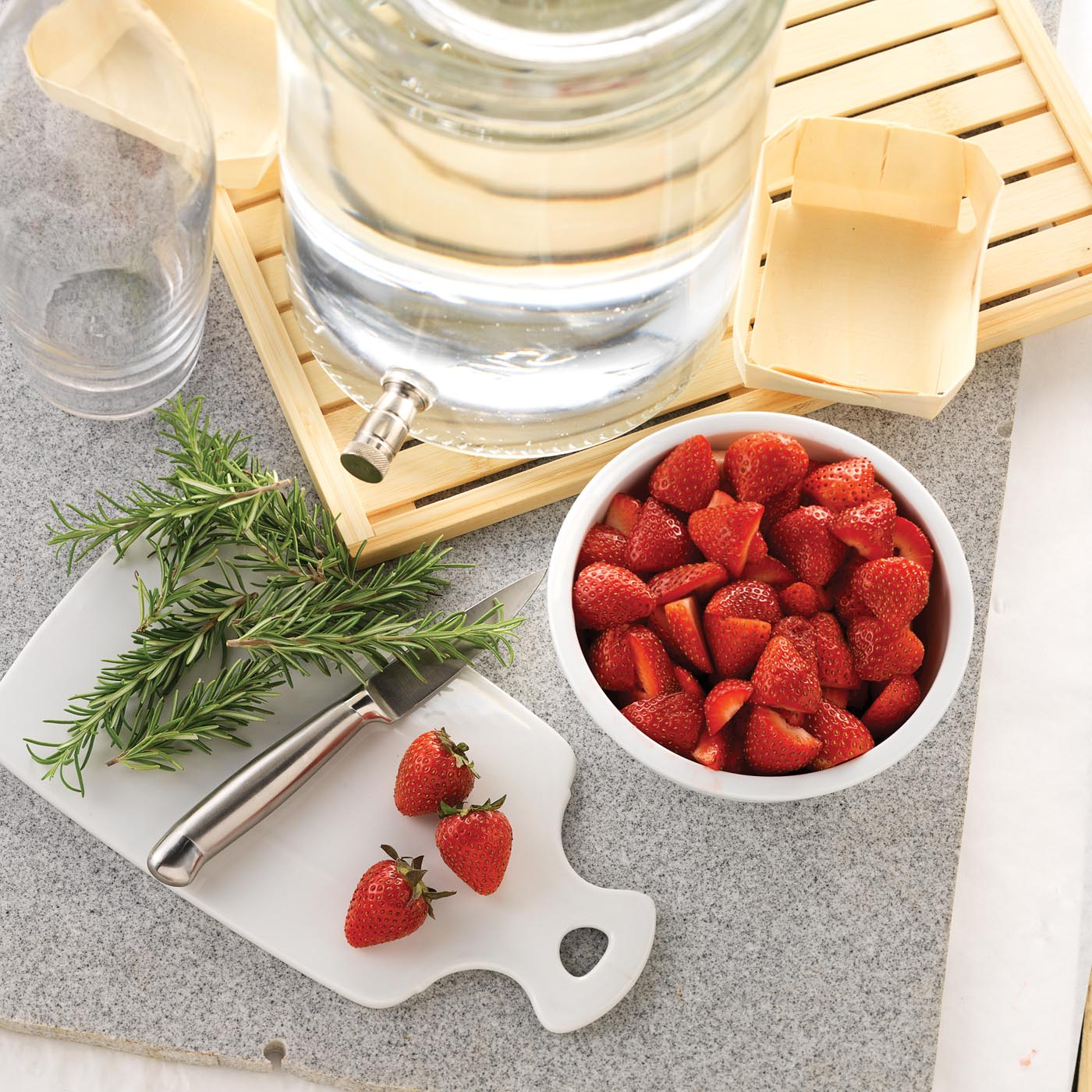 Strawberry-Rosemary Infusion