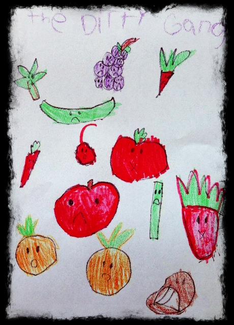 Art work by my niece Addie