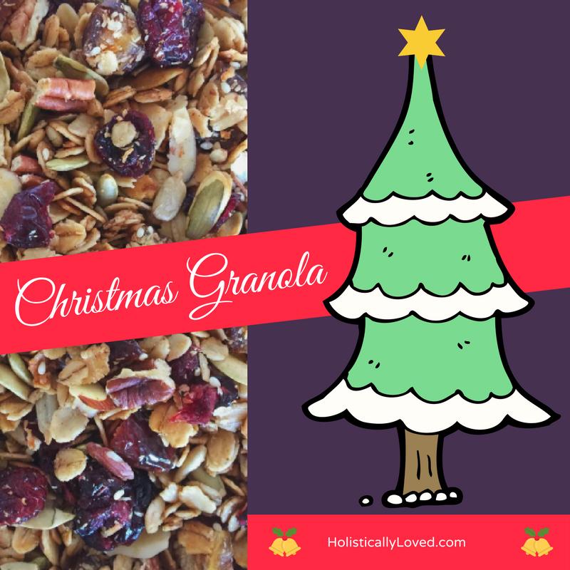 The Yummiest Christmas Granola Ever