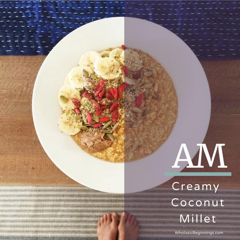 Creamy Coconut Millet Porridge