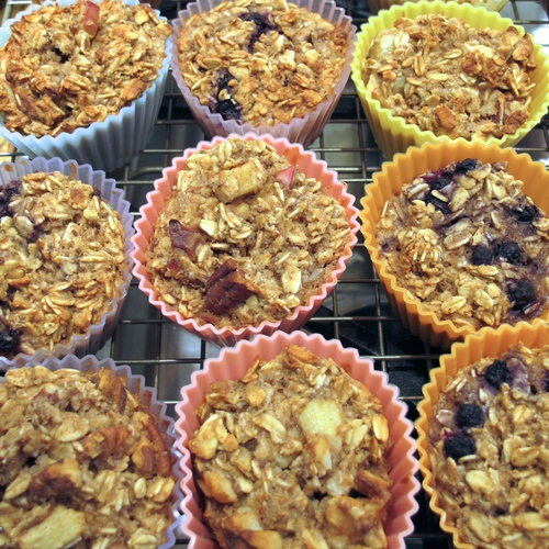 Delicious Baked Oatmeal Muffins That Happen To Be Gluten Free and Diabetic Friendly