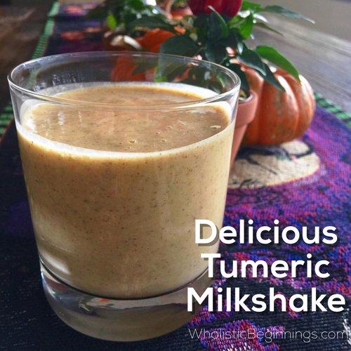 Delicious Tumeric Milkshake