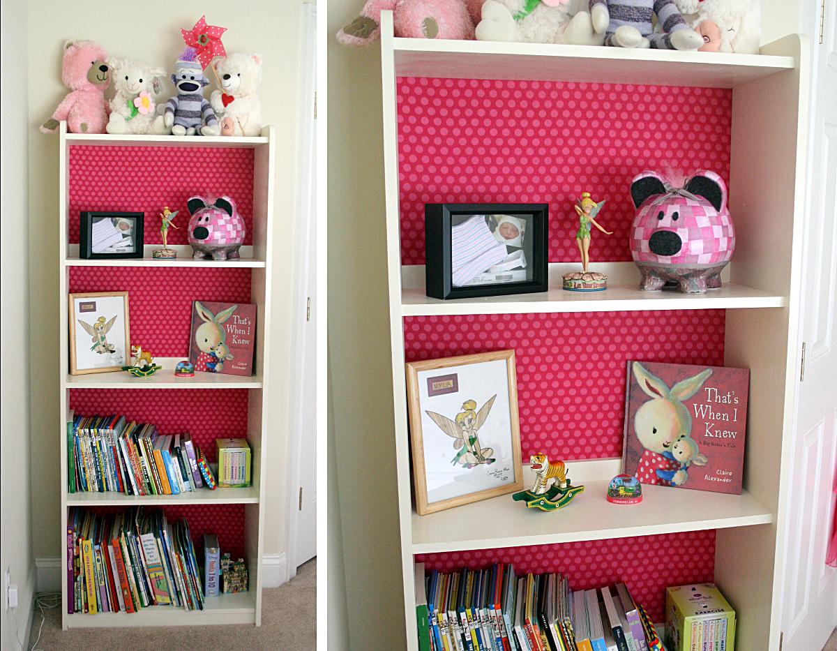 Finished bookcase.
