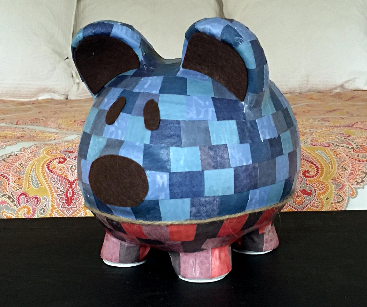 Finished Piggy Bank
