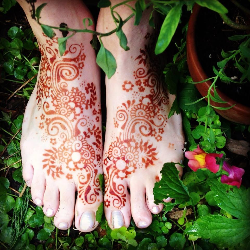 garden girl henna