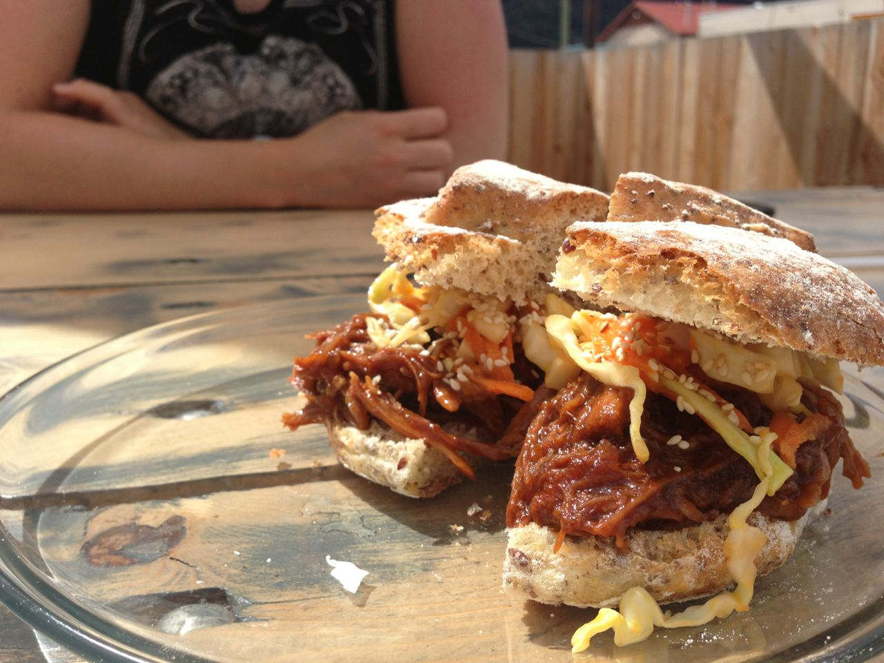 Pulled Pork Sandwich with Rustica Bread