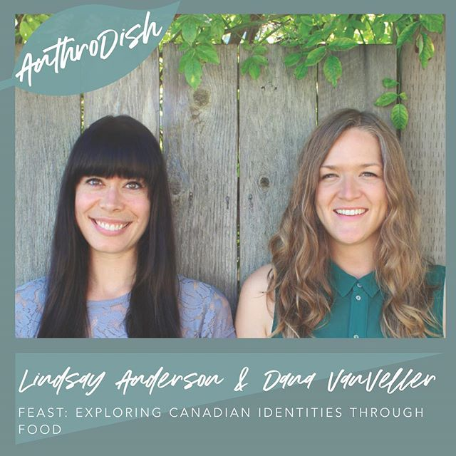 Haven't heard from us in a while? Well, you can hear a whole lot from us today on the @anthrodishpodcast where we chat about cookbooks and Canadian food with host @sinsarahdee. (Link on @anthrodishpodcast's profile) #feastthebook
