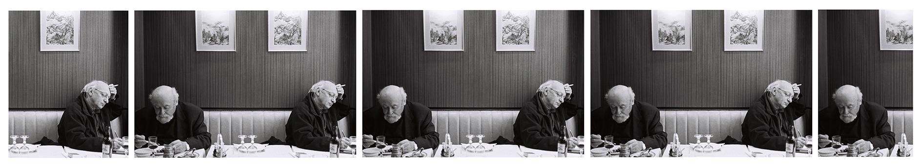 Autour il y avait le temps, symétrique et implacable, parfumé et silencieux  Paris, 17/04/04