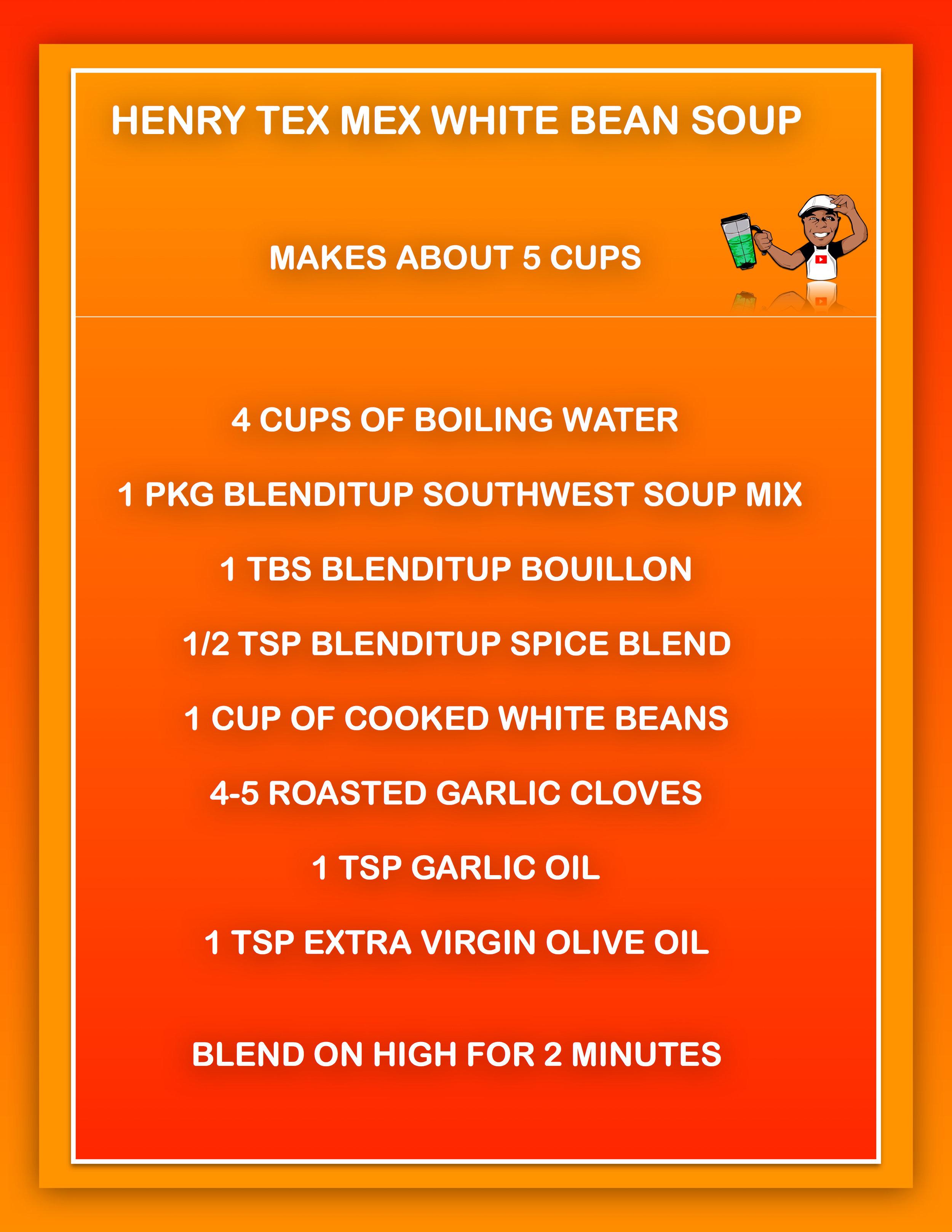 Henry Tex Mex White Bean Soup recipe.jpg