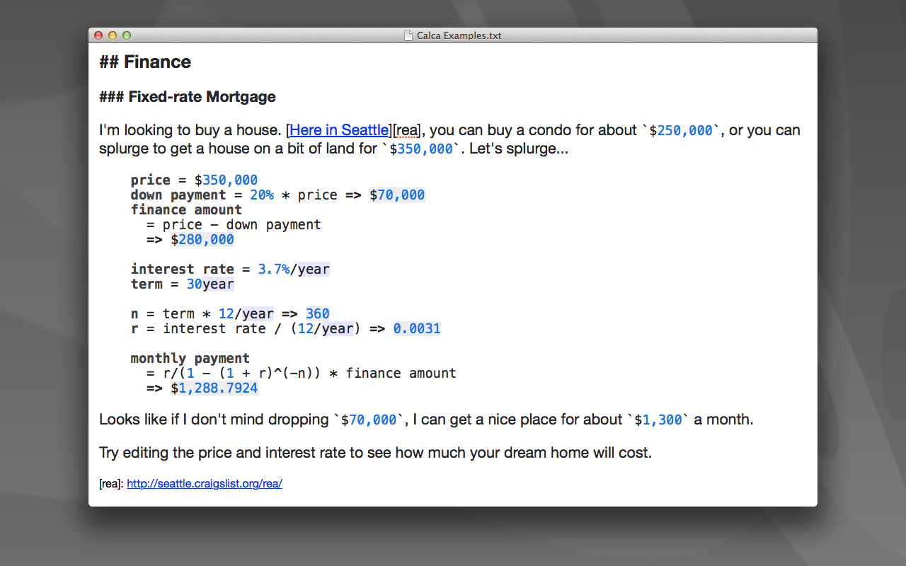 Calca 1.5.3 Mac 破解版 科学计算工具