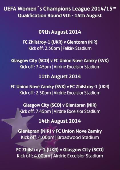 Full UEFA Champions League Fixtures