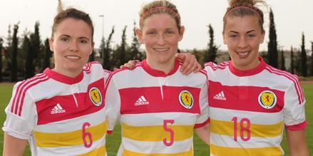 Jo Love, Leanne Ross, Nicola Docherty, image courtesy of SFA.