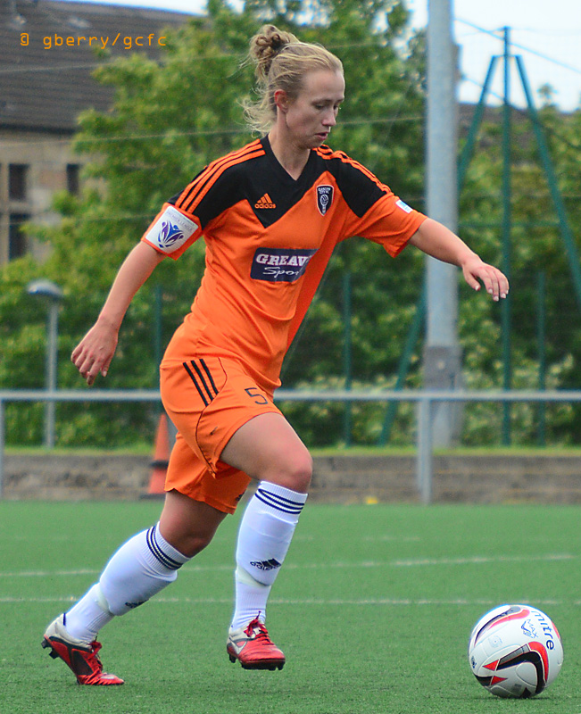 Image of Eilish in action  by Graeme Berry