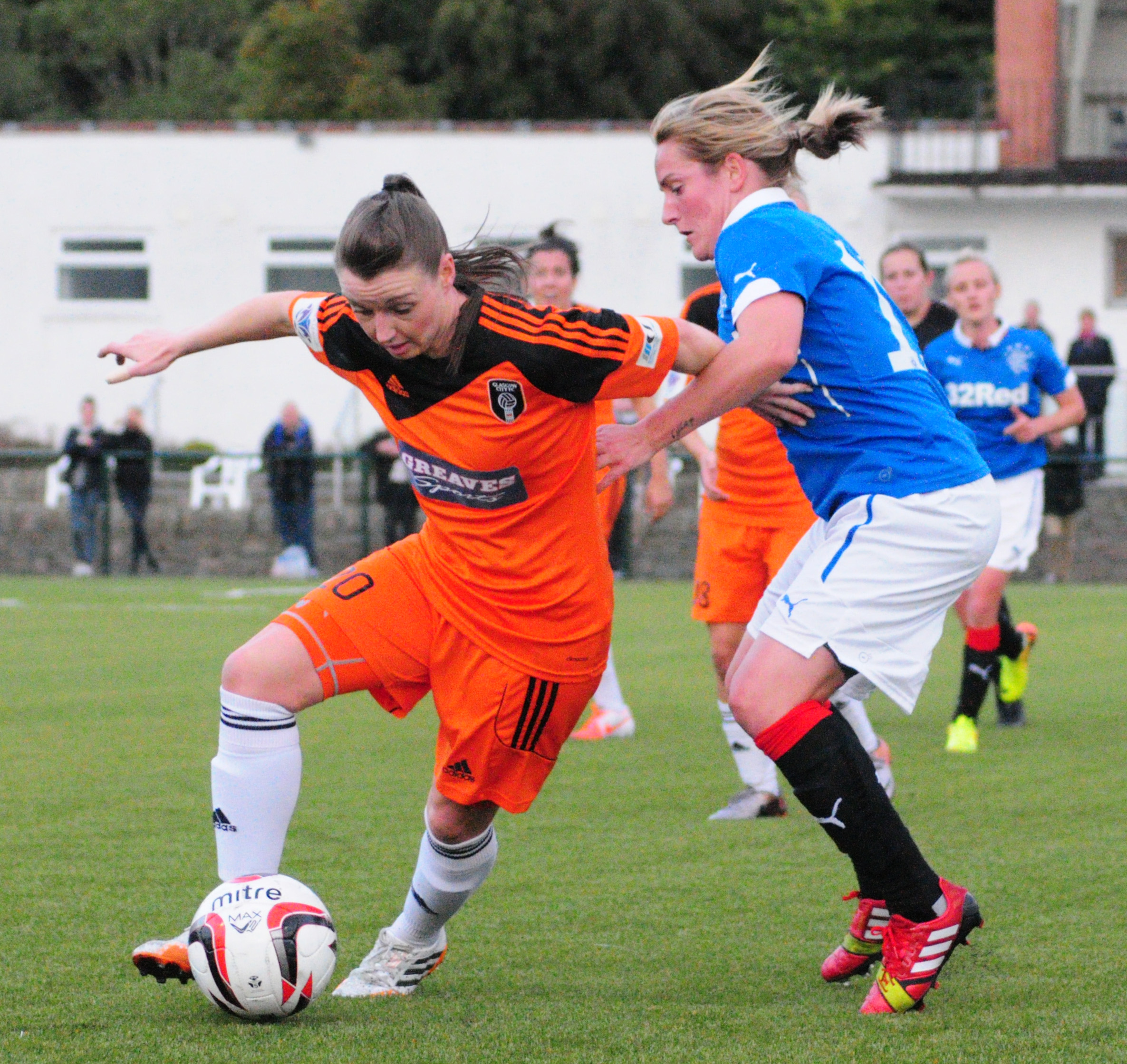 Susan Fairlie in action. Image courtesy of Graeme Berry