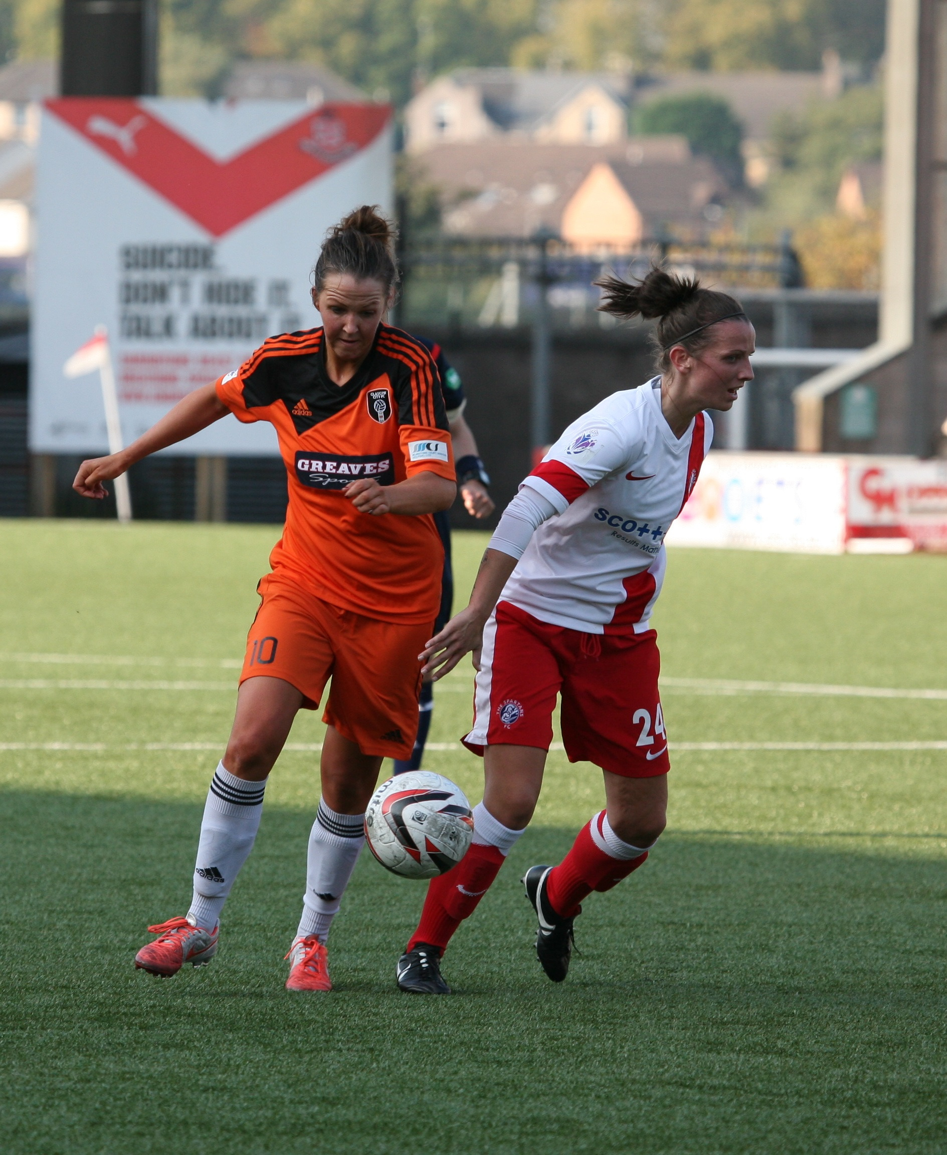 Suzanne Lappin action. Image by Andy Buist