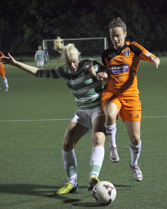 Abbi Grant in action. Image by Andy Buist