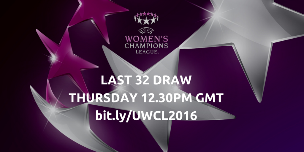 uefa women s champions league last 32 draw glasgow city football club uefa women s champions league last 32