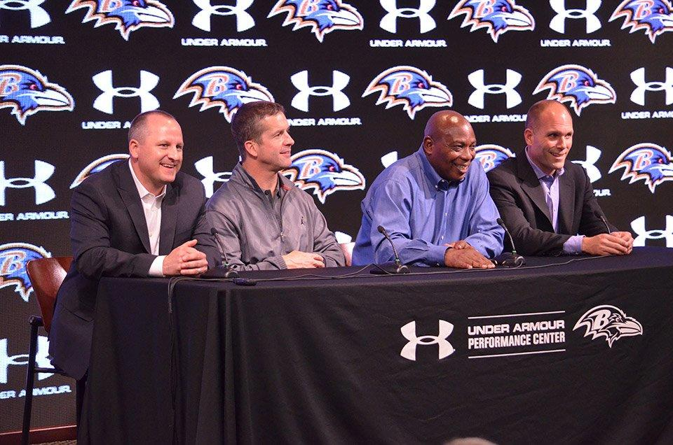 3.81mm RC Series in the Baltimore Ravens' press conference room