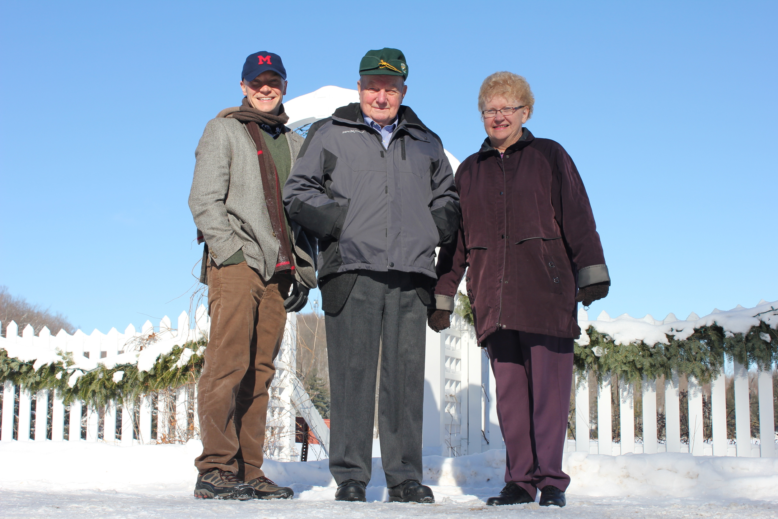 Family. 2012. Within sight of Timms Hill – Wisconsin's highest point. Ogema, WI