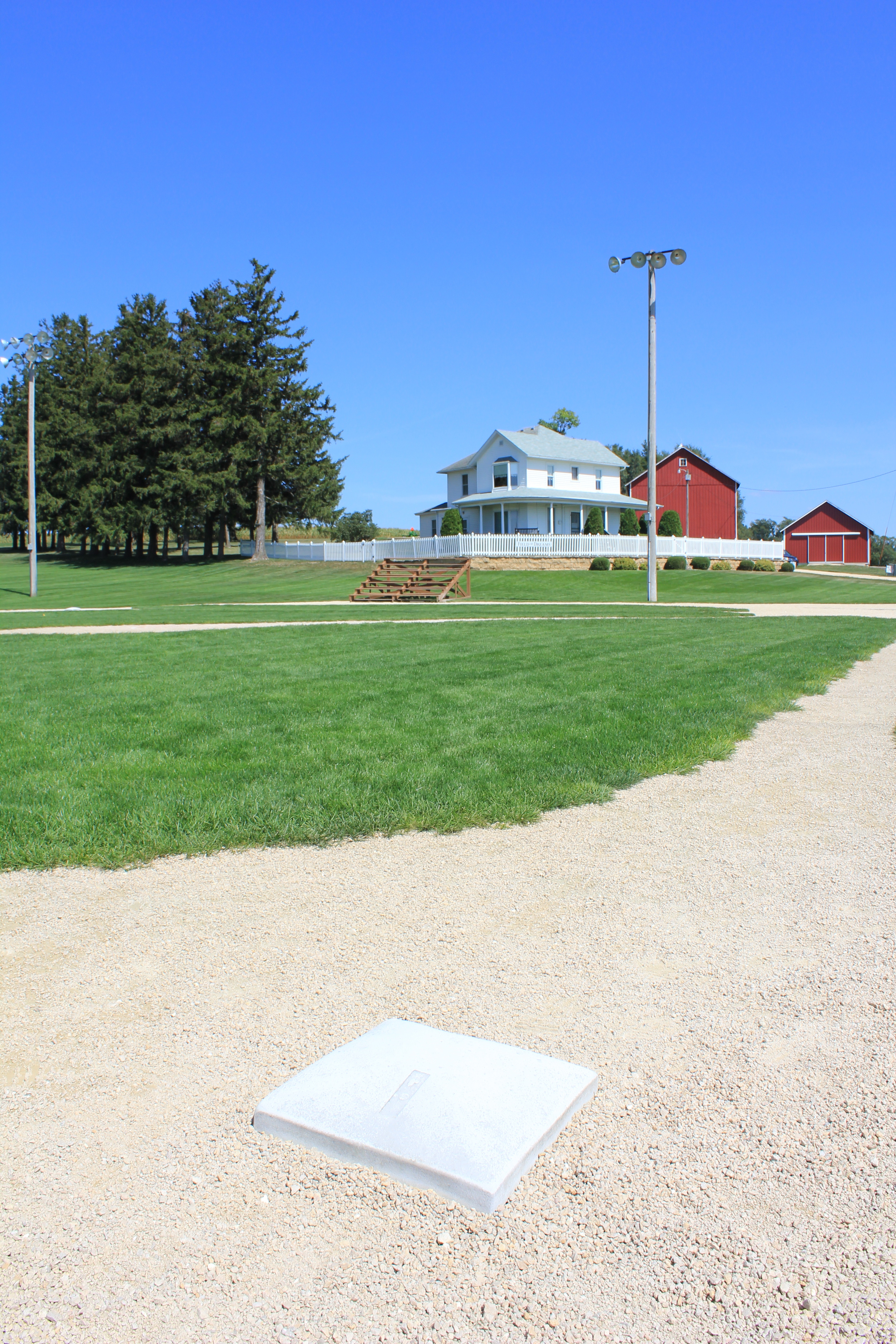 Summer at the Field of Dreams movie site. Outside Dryersville, IA