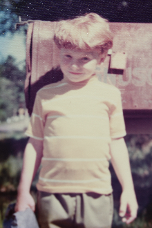 Not quite 5-years-old. Let this stand as Exhibit #1 in evidence of my once and forever true gingerness.