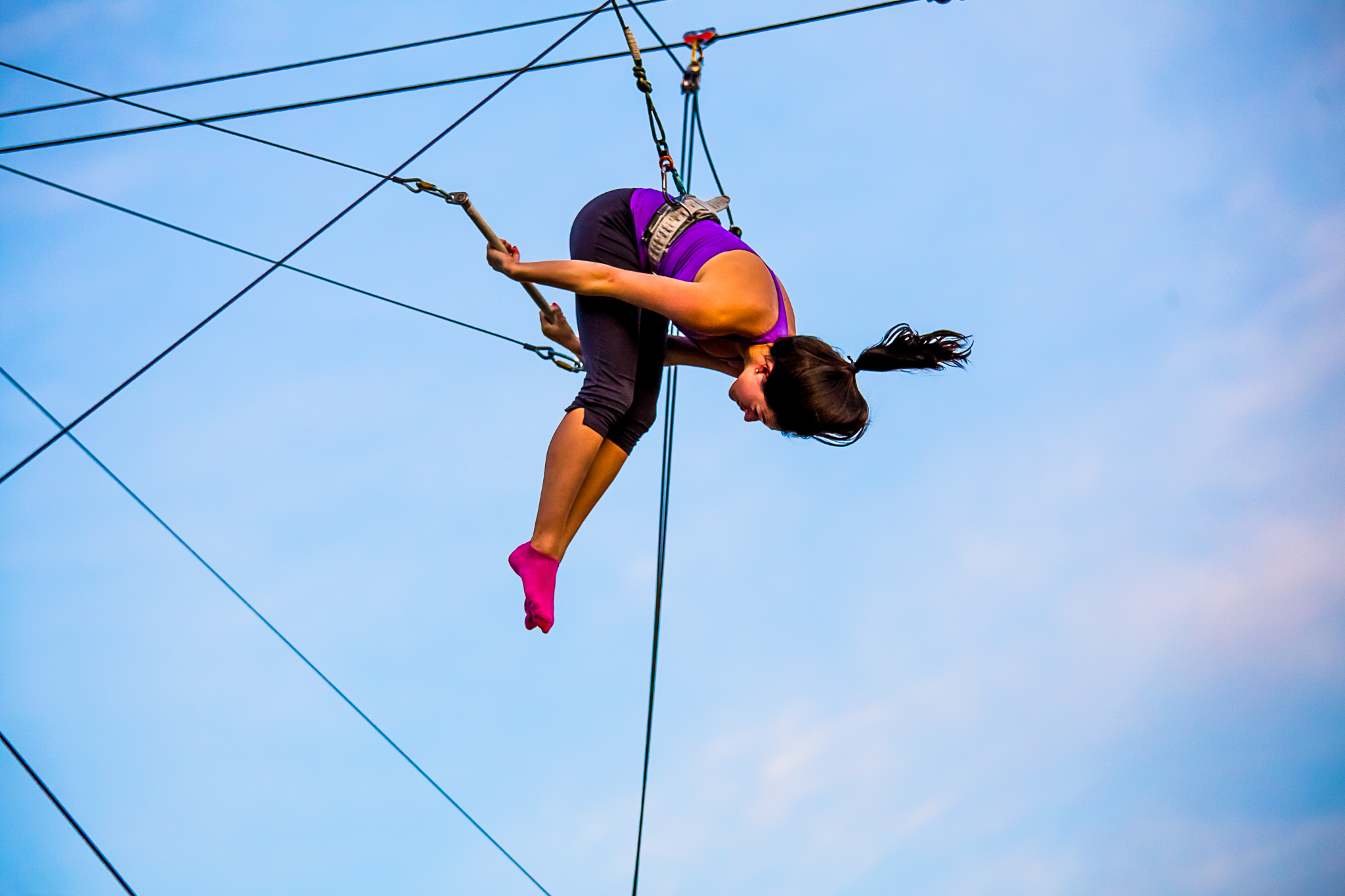 trapeze school new york DC student