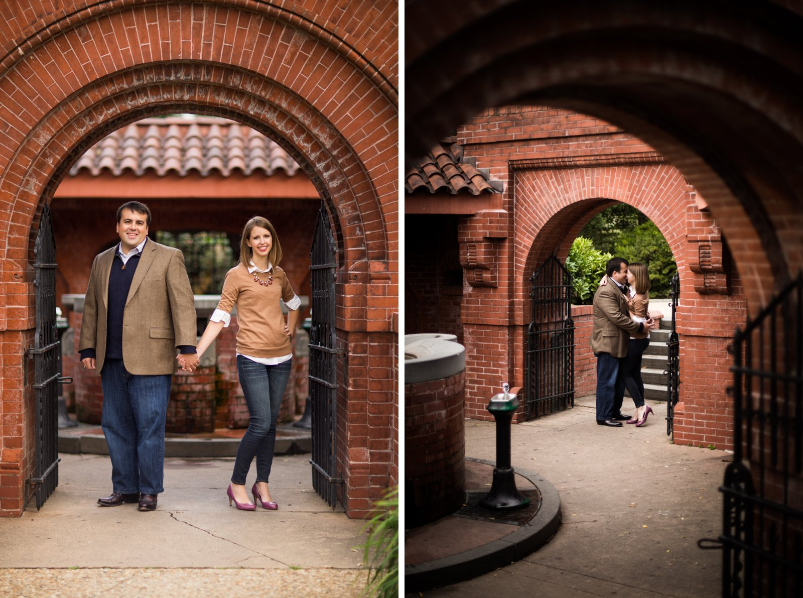 Capitol engagement session at Summer House